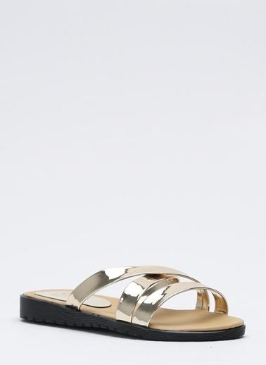 Shoes1441 Terlik Altın